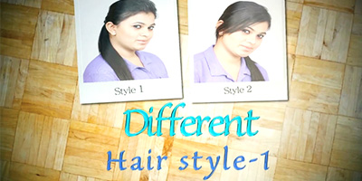 Different Hair Styles Series 1 – Do it Yourself | KhoobSurati.com