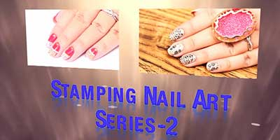 Stamping Nail Art Series 2 – Do it Yourself | KhoobSurati.com