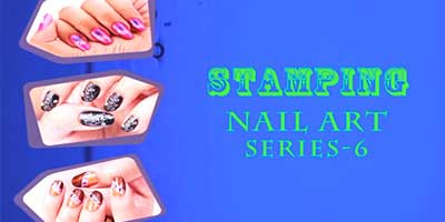 Stamping Nail Art Series 6 – Do it Yourself | KhoobSurati.com